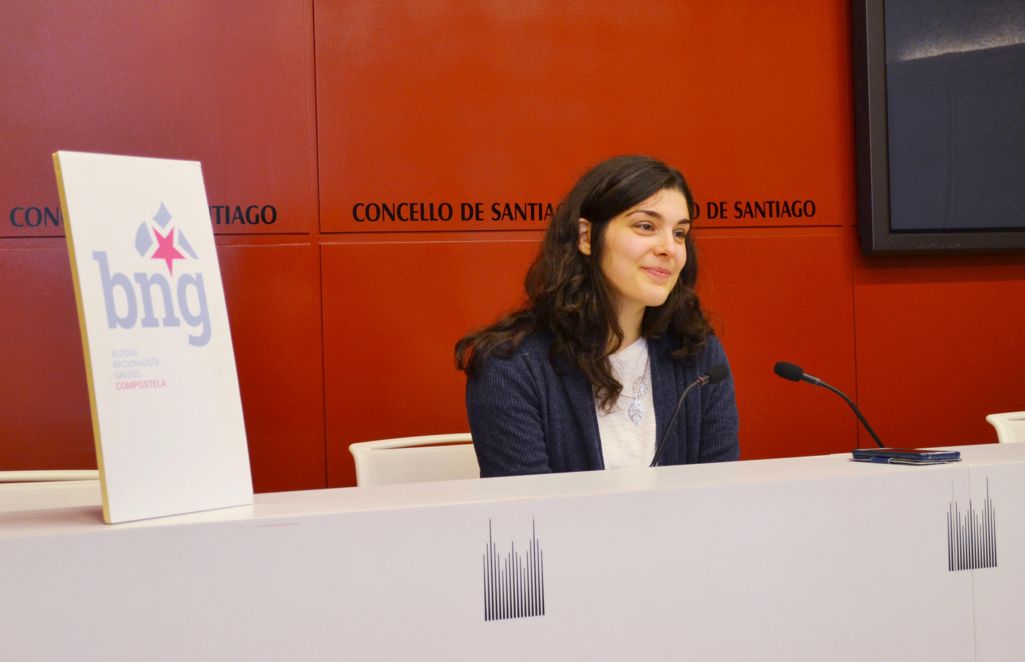 O BNG reclama que se manteñan as oficinas do Banco Santander e Abanca existentes en Santiago de Compostela