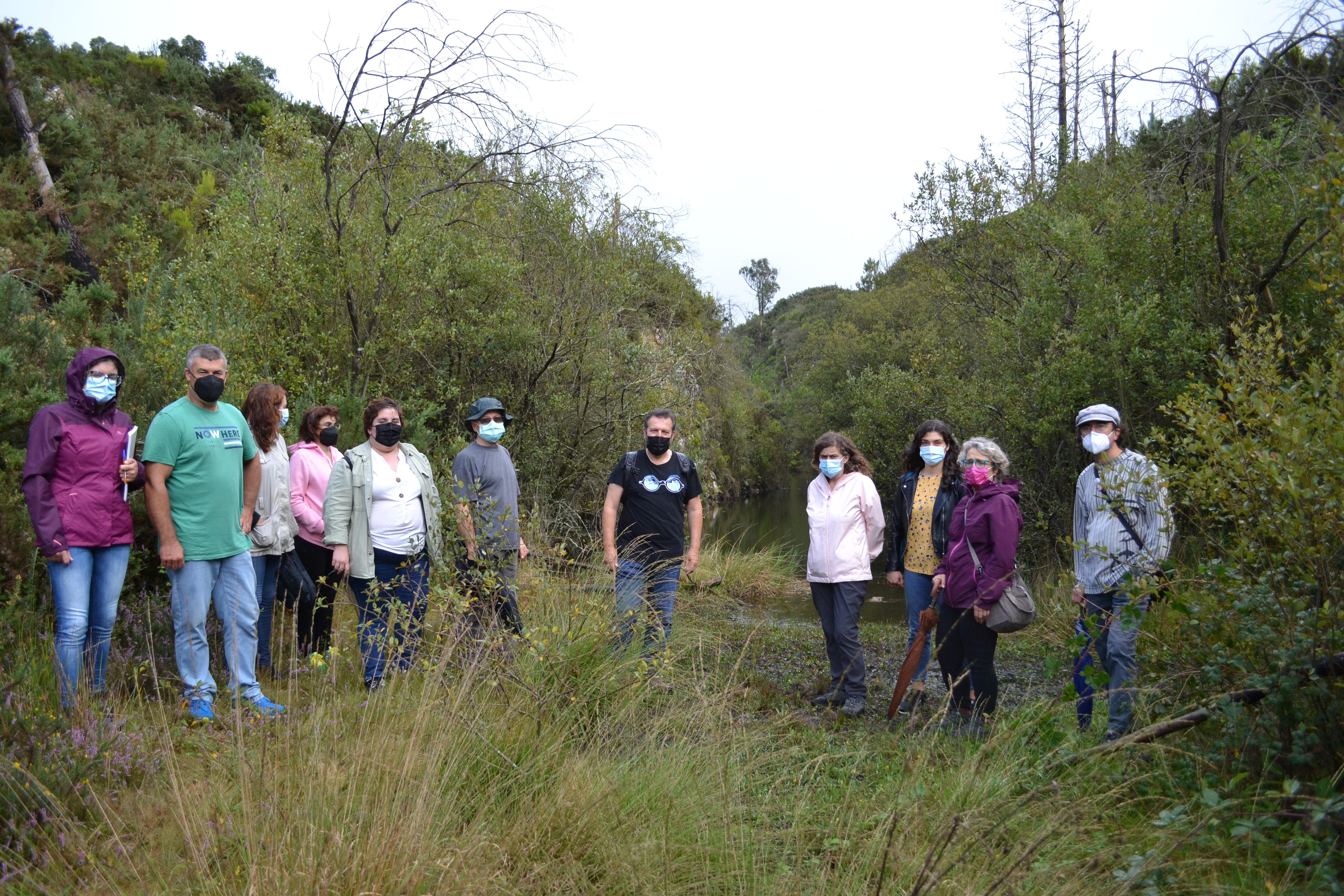 O BNG reclama un estudo do hábitat e do patrimonio da canteira de Santa Cristina de Fecha para protexelo e evitar a instalación dun vertedoiro